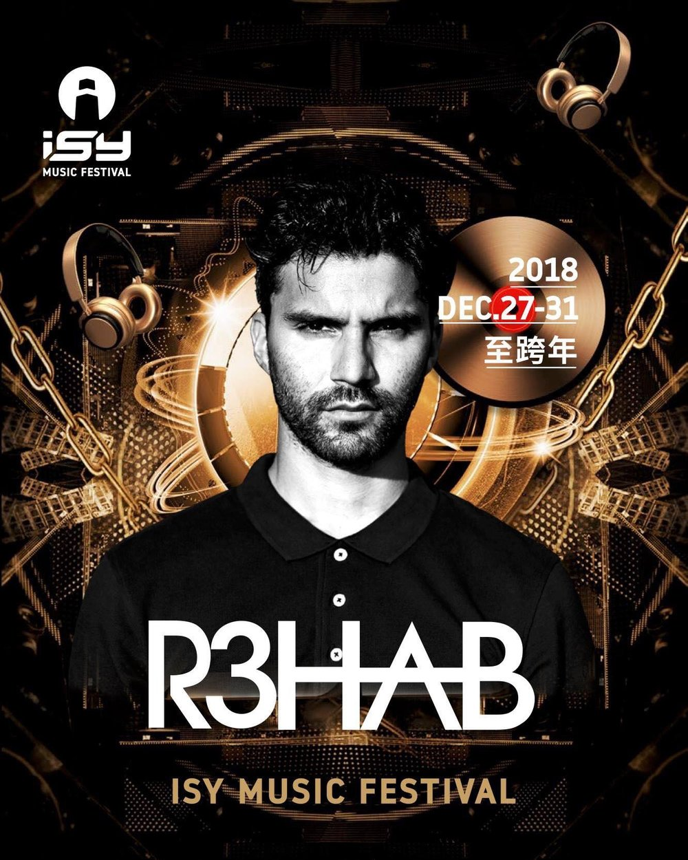 R3hab - Dutch DJ and record producer of Moroccan origin. Although his style and sound at the time were usually darker, somewhat reminiscent of early psytrance or gabber compositions.