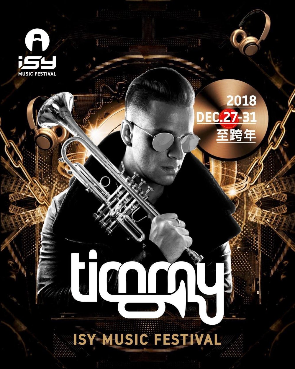 Timmy Trupent - is an Australian musician, DJ and record producer. He has become known internationally for his jazz elements in the realm of global dance music.