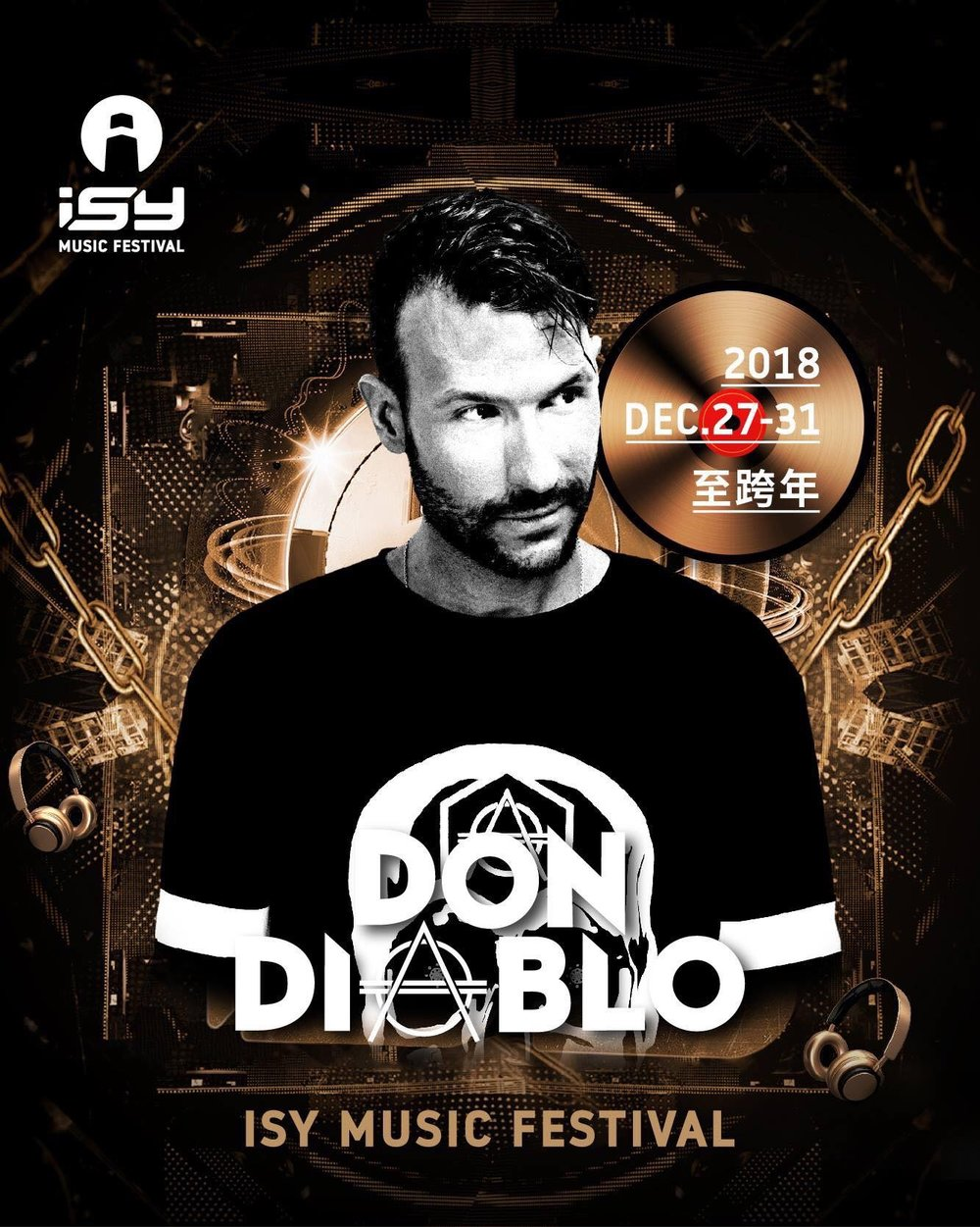 Don Diablo - is a Dutch DJ, record producer, musician and songwriter of electronic dance music from Coevorden. He is known for his electronic style of production and vocalizing in most of his songs. He is one of the pioneers of the future house genre and was ranked 7th in the Top 100 DJs – 2018 list by DJ Mag. He was also ranked #1 Producer of the Year by 1001 Tracklists. In 2016 he was ranked the number one Future House Artist of the Year on Beatport.