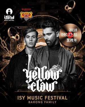 Yellow Clow - is a Dutch DJ and record production duo from Amsterdam. The duo's music is a mix of a wide range of genres and often incorporates elements from trap, hip hop, dubstep, big room house, hardstyle and moombahton.